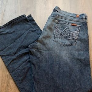 7 for all man kind jeans size 34*34